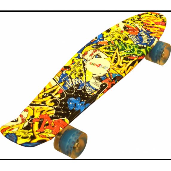 Skateboard Aga4Kids Skull