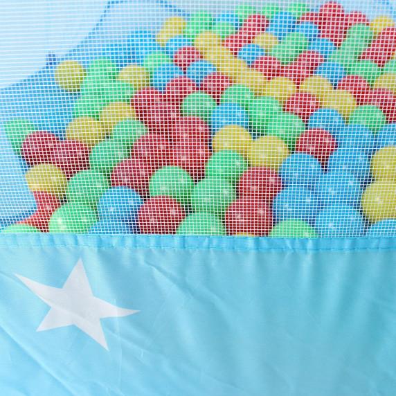 Detský hrací stan Aga4Kids ST-005-BLUE - Modrý