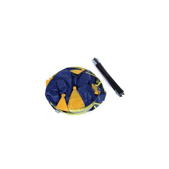 Detský hrací stan Aga4Kids CASTLE Beautiful Cubby house KL999 ST-0108 - Tmavomodrý