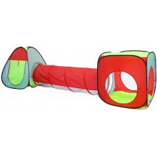 Detský hrací stan so spojovacím tunelom Aga4Kids MR0031 - farebné Preview