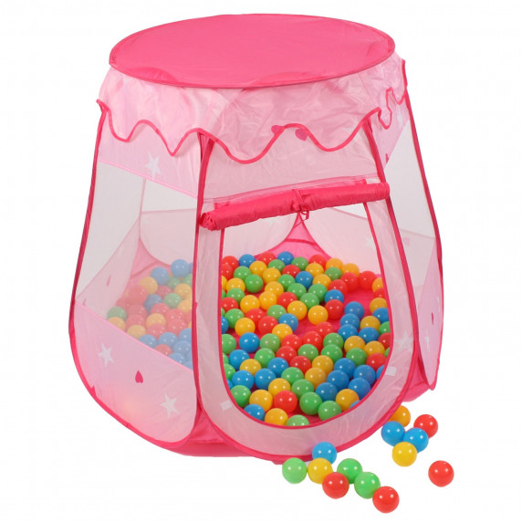 Detský hrací stan Aga4Kids ST-005-PINK - Ružový