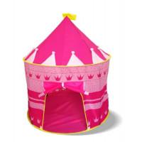 Detský hrací stan Aga4Kids  CASTLE Beautiful Cubby house KL999 ST-0108-PINK - Ružový