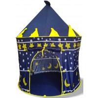 Aga4Kids detský hrací stan CASTLE Beautiful Cubby house KL999 ST-0108 - Tmavomodrý