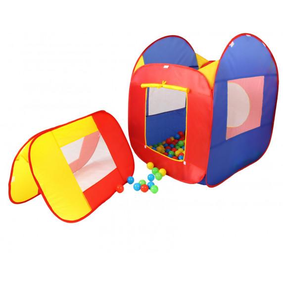 Detský hrací domček s loptičkami Kiduku KZ-007