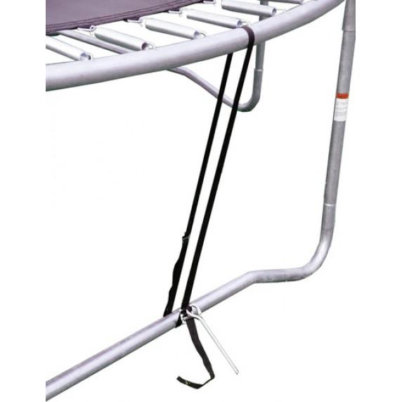 AGA zabezpečenie proti vetru na trampolíny s celkovým priemerom 150 - 518 cm