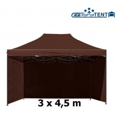 AGA predajný stánok 3S POP UP 3x4,5 m Brown Preview