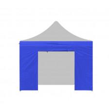 AGA Bočnica s dverami POP UP 3x3 m - modrá Preview