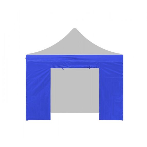 AGA Bočnica s dverami POP UP 3x3 m - modrá