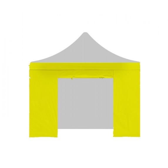 AGA Bočnica s dverami POP UP 3x3 m - žltá