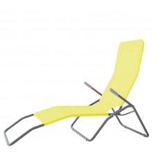 Záhradné lehátko AGA SIESTA 102C Yellow Preview