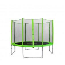 AGA SPORT PRO Trampolína 400 cm Light Green s vonkajšou ochrannou sieťou Preview