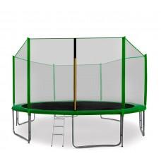 AGA SPORT PRO Trampolína 400 cm Green s vonkajšou ochrannou sieťou Preview