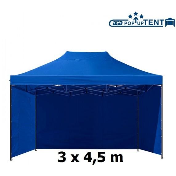 AGA predajný stánok 3S POP UP 3x4,5 m Blue