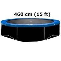 AGA dolná ochranná sieť na trampolínu s celkovým priemerom 460 cm