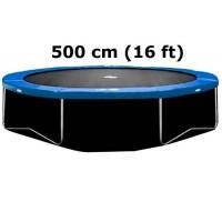 AGA dolná ochranná sieť na trampolínu s celkovým priemerom 500 cm