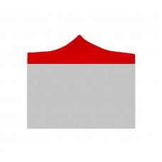 Aga Náhradná strecha PARTY 3x3 m Red Preview