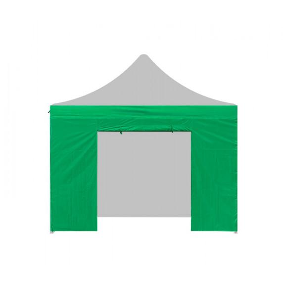 AGA Bočnica s dverami POP UP 2 x 2 m - zelená