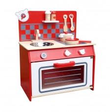 Inlea4Fun mini drevená detská kuchynka Medvedík Preview