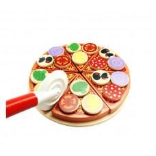 Krájacia drevená pizza PIZZA TOY Preview