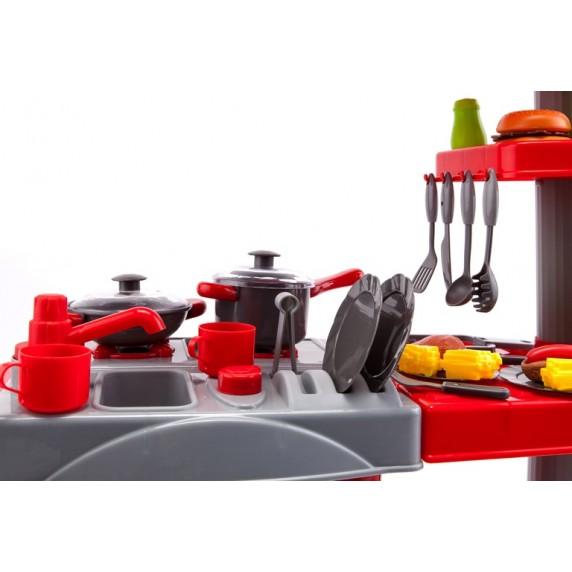 Aga4Kids Plastová kuchynka 008-83 Red