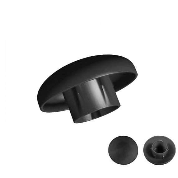 AGA klobúčik UNIVERSAL na trampolíny s vonkajšou ochrannou sieťou - čierny