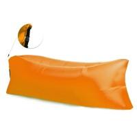 Aga nafukovací vak - LAZY BAG orange