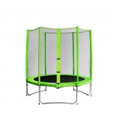Aga SPORT PRO Trampolína 150 cm Light Green s vonkajšou ochrannou sieťou Preview