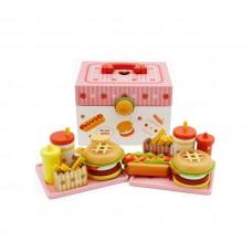 Aga4Kids Hamburger kufrík HAMBURGER TOY Preview