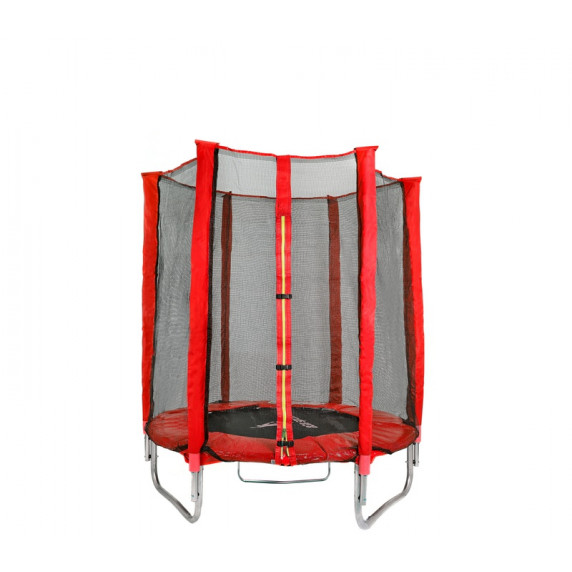 Aga Sport INDOOR trampolína Red 140 cm