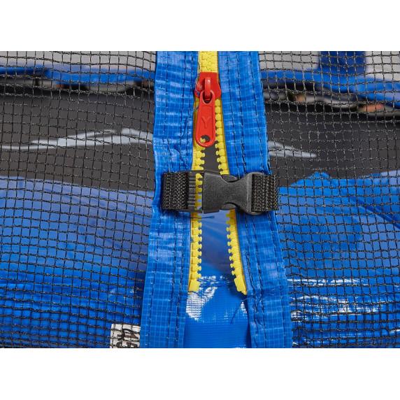 AGA SPORT TOP trampolína 250 cm s vonkajšou ochrannou sieťou modrá