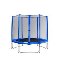 AGA SPORT PRO trampolína 180 cm s vonkajšou ochrannou sieťou modrá