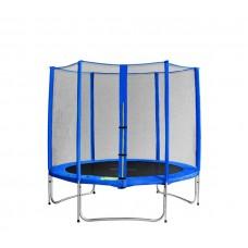Aga SPORT PRO Trampolína 180 cm Blue s vonkajšou ochrannou sieťou Preview
