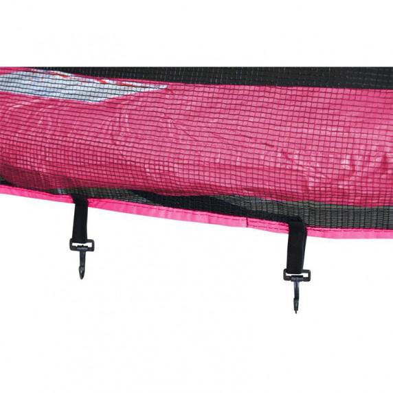 Aga SPORT PRO Trampolína 430 cm Pink + ochranná sieť + rebrík + vrecko na obuv 2018