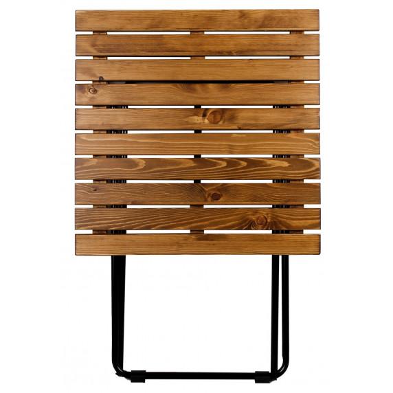 Záhradný stôl Linder Exclusiv MC4712 45 x 50 x 45 cm - hnedý