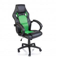 Kancelárské kreslo Racing čierna-zelená Preview
