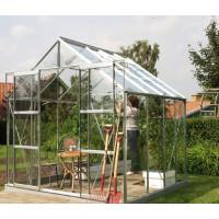 VITAVIA URANUS skleník 6700 číre sklo 3 mm strieborný