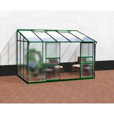 VITAVIA IDA skleník 6500 matné sklo 4 mm + PC 6 mm zelený Preview