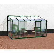 VITAVIA IDA skleník 7800 matné sklo 4 mm + PC 6 mm zelený Preview