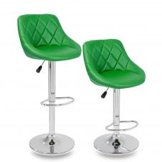 Aga Barová stolička 2 kusy - Zelená Preview