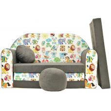 Aga detská pohovka MAXX 033 - Zvieratká Preview