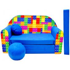 Aga detská pohovka MAXX 316 - Stavebnica Preview
