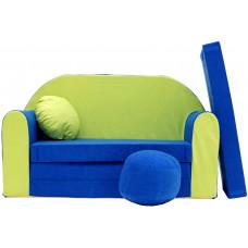 Aga detská pohovka MAXX 767 - Zelený/modrý Preview