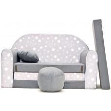 Aga detská pohovka MAXX 832 - Hviezdy/sivá Preview