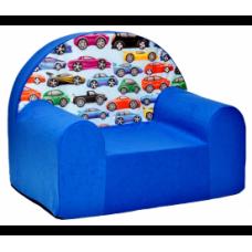 Aga detské kresielko MAXX 958 - Autíčka/modré Preview