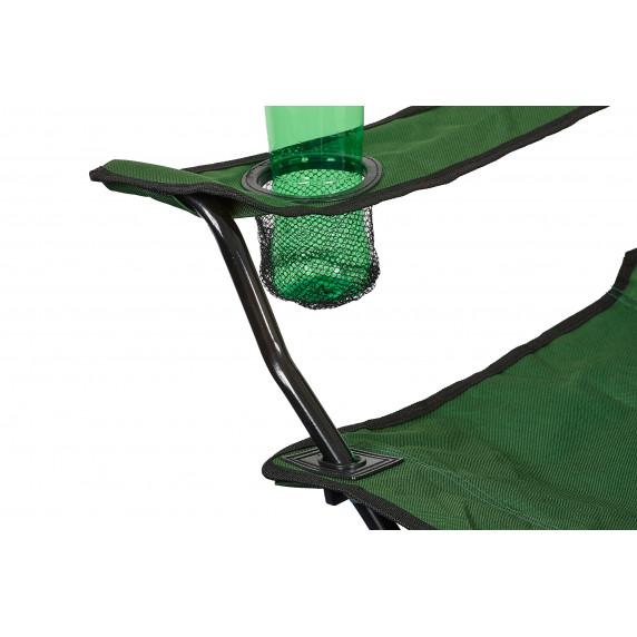 Turistické skladacie kreslo Linder Exclusiv  ANGLER PO2432 - zelené