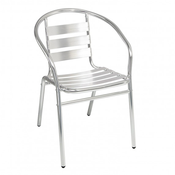 Záhradná kovová stolička LINDER EXCLUSIV MC4602 75 x 54 x 56 cm