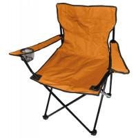 ANGLER kempingové kreslo PO2468 oranžové