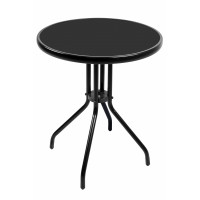 Záhradný stôl Linder Exclusiv BISTRO MC330850BB 70 cm x Ø60 cm