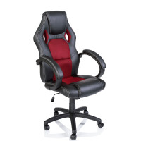 Kancelárské kreslo Aga Racing RS008 čierna-červená