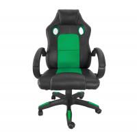 Kancelárske kreslo Aga Racing MR2070 - zeleno-čierne